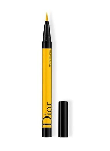 Dior Dior Diorshow On Stage Liner Waterproof 541 Matte Yellow Sarı